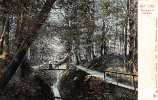 Ansichtkaart Apeldoorn Parapluie in het Park 1904 HC24855