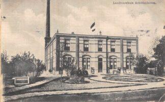 Ansichtkaart Achttienhoven bij Utrecht Landbouwhuis 1909 HC24859