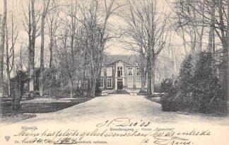 Ansichtkaart Rijswijk (ZH) Geestbrugweg Huize Cromvliet 1904 HC24874