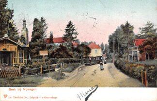 Ansichtkaart Beek (GD) bij Nijmegen Stoomtram Tram 1904 HC24876