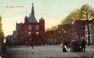 Ansichtkaart Deventer De Waag 1908 HC24877