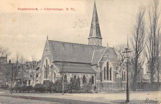 Ansichtkaart 's-Gravenhage Engelsche Kerk 1905 Nauta N. 717 HC24879