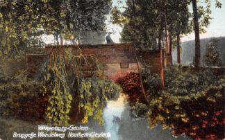 Ansichtkaart Geulhem Valkenburg (LB) - Geulem Bruggetje wandelweg Houthem - Geulem 1920 HC24892