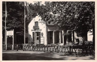 Ansichtkaart Overveen Kraantje Lek Gezicht vanaf de Duinlustweg 1950 Haarlem HC24895