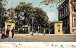 Ansichtkaart Amsterdam Ingang Artis 1905 Zoo Dierentuin HC24933