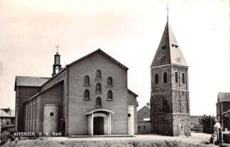 Ansichtkaart Afferden Bergen (LB) R.K. Kerk 1962 HC24963