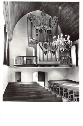 Ansichtkaart Hellendoorn Hervormde Kerk Interieur met orgel 1967 HC24973