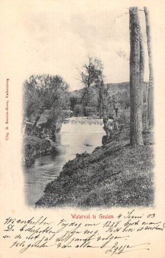 Ansichtkaart Geulhem Waterval te Geulem 1903 Valkenburg (LB) HC24974