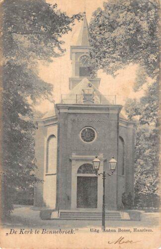 Ansichtkaart Bennebroek De Kerk te Bennebroek 1902 Haarlem HC24977