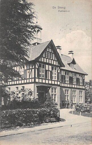 Ansichtkaart De Steeg Postkantoor 1909 HC24978