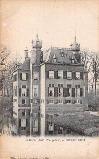 Ansichtkaart Oegstgeest Kasteel Poelgeest 1915 Nauta 1650 HC24984