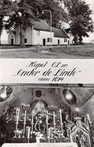Ansichtkaart Thorn Kapel O.L.vr. Onder de Linde 1964 Maasgouw HC24999