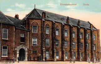 Ansichtkaart Breda Klooster kazerne 1912 Militair HC25021