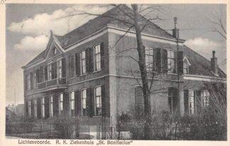 Ansichtkaart Lichtenvoorde R.K. Ziekenhuis St. Bonifacius 1928 HC25025