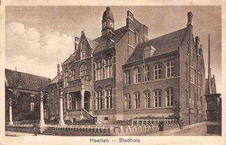 Ansichtkaart Heerlen Stadhuis 1929 HC25030