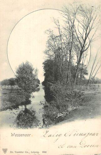 Ansichtkaart Wassenaar 's-Gravenhage Kleinrondstempel Looz 1910 HC25038