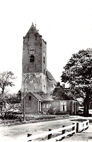 Ansichtkaart Garnwerd Ned. Herv. Kerk1964 Westerkwartier Groningen HC25044