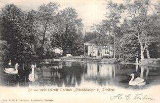 Ansichtkaart Zierikzee De van ouds bekende Theetuin Schuddebeurs 1905 HC25062