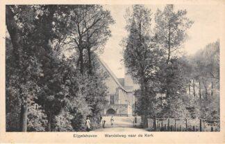 Ansichtkaart Eygelshoven Eijgelshoven Wandelweg naar de Kerk Kerkrade HC25077