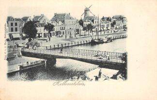 Ansichtkaart Hellevoetsluis Haven Molen HC25079
