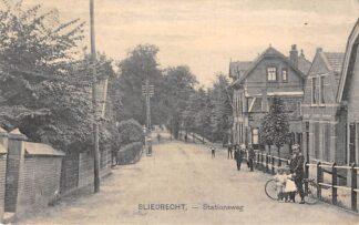 Ansichtkaart Sliedrecht Stationsweg 1926 Nauta 12564 HC25098