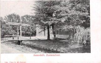 Ansichtkaart Assendelft Zusterschool Zaanstad Zaandam School HC25100
