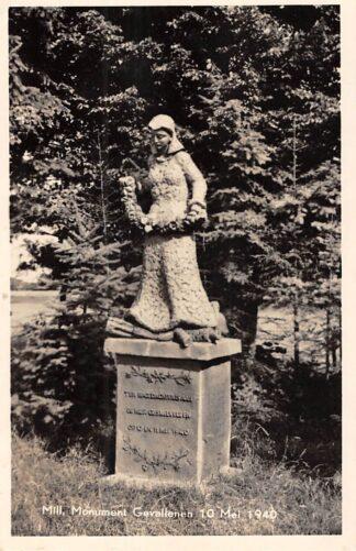 Ansichtkaart Mill Monument Gevallenen 10 mei 1940 Tweede Wereldoorlog WO2 HC25139
