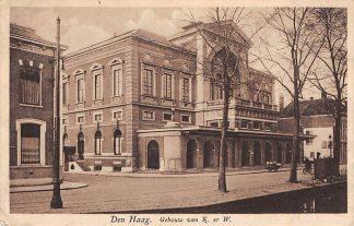 Ansichtkaart 's-Gravenhage Den Haag Gebouw van K. en W. 1931 HC25155