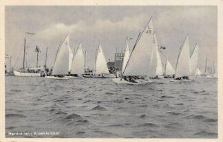 Ansichtkaart Sneek Hardzeilen Sneekermeer 1942 HC25163