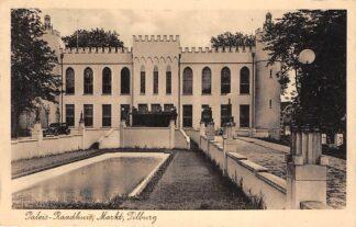 Ansichtkaart Tilburg Paleis Raadhuis Markt 1938 HC25167