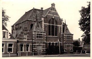 Ansichtkaart Makkum Fotokaart Gereformeerde Kerk HC25174