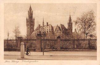 Ansichtkaart 's-Gravenhage Den Haag Vredespaleis 1933 HC25227