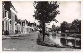 Ansichtkaart Workum Zuid 1951 HC25228