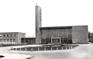 Ansichtkaart Gouda Aalberseplein R.K. Kerk HC25252