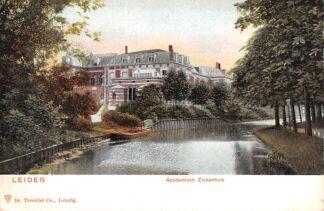 Ansichtkaart Leiden Academisch Ziekenhuis 1900 HC25285