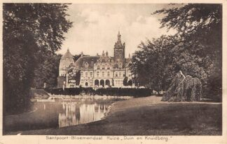 Ansichtkaart Santpoort Huize Duin en Kruidberg 1934 Bloemendaal Haarlem HC25301
