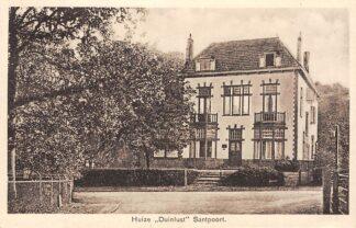 Ansichtkaart Santpoort Huize Duinlust 1938 Bloemendaal Haarlem HC25302