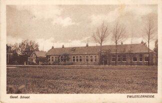Ansichtkaart Twijzelerheide Gereformeerde School 1949 Friesland Achtkarspelen HC25320