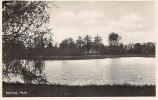 Ansichtkaart Meppel Park 1932 HC25327