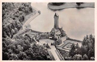 Ansichtkaart Hoenderloo Het nationale Park De Hoge Veluwe Jachtslot St. Hubertus Luchtfoto 1954 HC25363