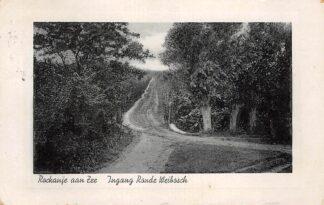 Ansichtkaart Rockanje aan Zee Ingang Ronde Weibosch 1937 HC25365