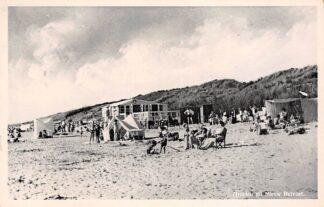 Ansichtkaart Nieuw-Helvoet Groeten uit 1955 Strand Hellevoetsluis HC25381