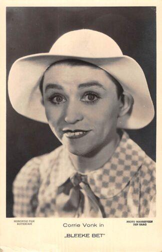 Ansichtkaart Film Filmster Corrie Vonk in Bleeke Bet Monopole Film Rotterdam 1935 HC25400