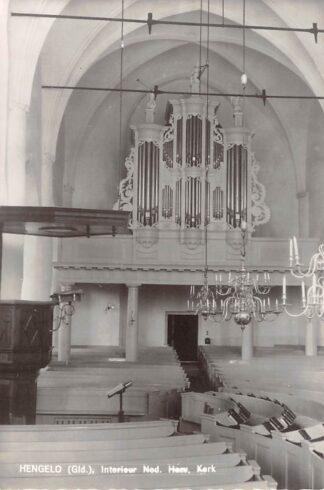 Ansichtkaart Hengelo (GD) Interieur Ned. Herv. Kerk Orgel 1965 HC25481
