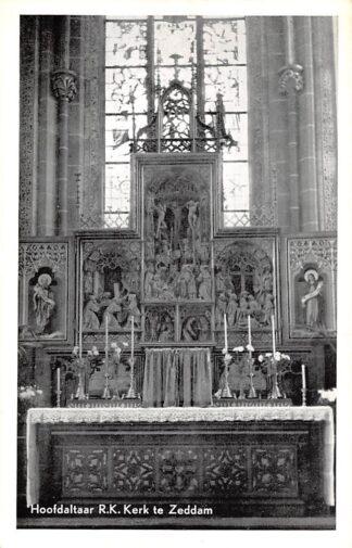 Ansichtkaart Zeddam Hoofdaltaar R.K. Kerk HC25489