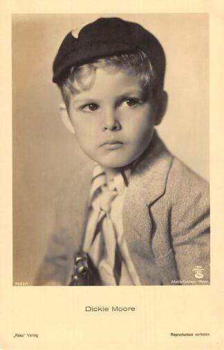 Ansichtkaart Film Filmster Dickie Moore Ross verlag 7262/1 Metro Goldwyn Mayer HC25524