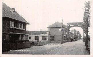 Ansichtkaart Zoetermeer Brug Fotokaart Bromografia 1935 HC25649