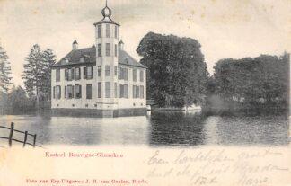 Ansichtkaart Ginneken bij Breda Kasteel Bouvigne 1903 HC25739