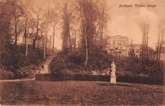 Ansichtkaart Arnhem Onderlangs met monument HC25751