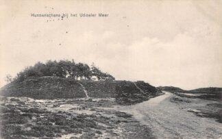 Ansichtkaart Uddel Hunnenschans bij het Uddelermeer 1913 HC25754